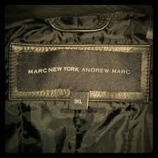 marc york 45 marc other marc jacob black leather bomber jacket