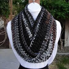 long skinny winter handmade crochet knit infinity scarf aftcra