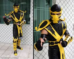 Scorpion Costume Scorpion Mortal Kombat By Yukilefay On Deviantart