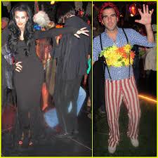 Morticia Addams Halloween Costumes Kate Walsh U0027s Halloween Costume Morticia Addams Jared Eng