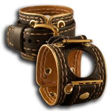 leather strap bracelet watches images Leather cuff watches watch bands cuffs by rockstar leatherworks jpg