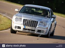 chrysler 300c touring srt8 model year 2006 silver driving