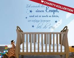 klebefieber kinderzimmer wandtattoo kleiner engel wandtattoos kinderzimmer kinderschutzengel