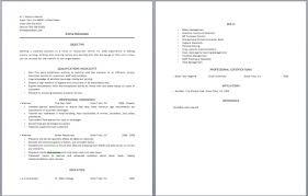 resume waitress duties sample resume for waitress free restauran
