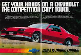 what is camaro 45 awesome vintage chevrolet camaro ads feature car and driver