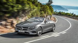 Mercedes S550 0 60 2017 Mercedes S550 Cabriolet And S63 Amg Cabriolet Ahead Of