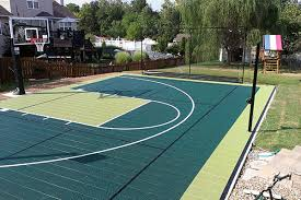 Backyard Basketball Court Backyard Courts Sport Court Of St Louis