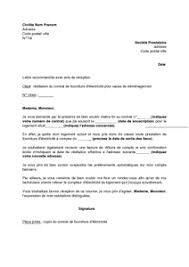 lettre de demande de fourniture de bureau lettre de résiliation du contrat de fourniture d électricité pour