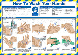 printable poster for hand washing cm1315 wash your hands poster beeswift workwear hi viz and ppe uk