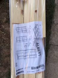 Self Assembly Bookshelves by Self Assembly Shelf Unit From Ikea Still In Packaging Unused In