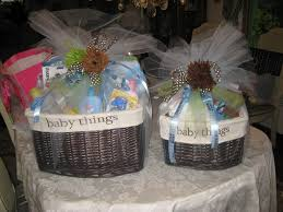 baby shower gift baskets for boys shower set of two