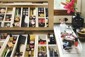 Organizing Makeup Vanity 48 Makeup Organization Ideas The Model Stage Blog