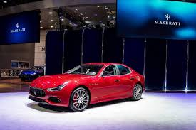 maserati sedan 2018 facelifted 2018 maserati ghibli shows its gransport persona in china