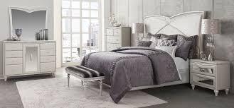 Upholstered Bedroom Sets 4 Piece Aico Melrose Plaza Upholstered Bedroom Set Usa Furniture