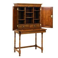 oak writing bureau furniture bureau desk solid oak writing bureau desks tudor oak uk