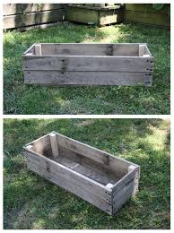 Planters On Wheels by Best 20 Wooden Planters Ideas On Pinterest Wooden Planter Boxes