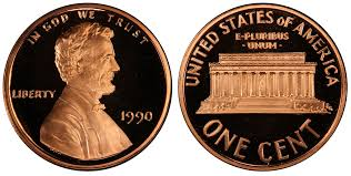 penny s 1990 1c no s dc proof pcgs coinfacts