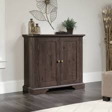sauder new grange accent storage cabinet multiple finishes