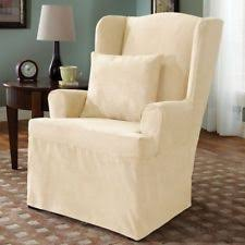 wing chair slipcover ebay