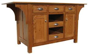 mission style kitchen island kitchen islands from all our amish craftsman