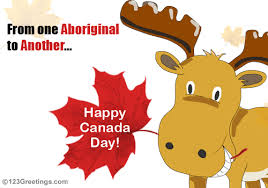 wishes from an aboriginal free canada day ecards greeting