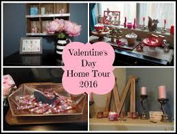 Valentine Home Decorations Valentine U0027s Day Decor Home Tour 2016 Youtube