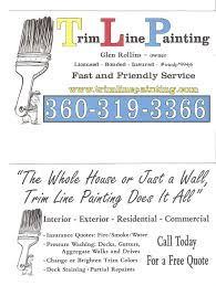 trim line painting home