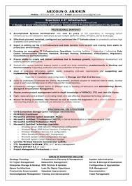 Linux System Administrator Resume Sample by Sample Resume For Experienced Linux System Administrator Free