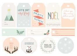 free printable christmas gift tags the makers society