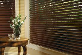 Darkening Shades Wood Blinds