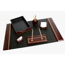 Modern Desk Set Shining Design Office Desk Set Simple Decoration Office Supplies