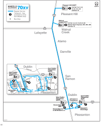 Bart Lines Map by Local Routes Wheelsbus