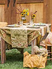 april cornell tablecloths runners napkins placemats