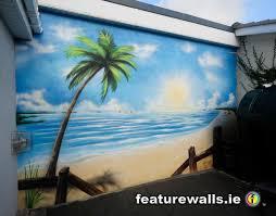outdoor beach murals mural painting professionals featurewalls outdoor beach murals mural painting professionals featurewalls ie private garden murals sea muralsceiling muralswall