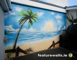 outdoor beach murals mural painting professionals featurewalls outdoor beach murals mural painting professionals featurewalls ie private garden murals