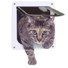 amazon com cat door 4 way locking pet door for interior doors