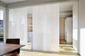 raumteiler küche esszimmer raumteiler vorhang weiß mit schiebegardinen flächenvorhänge für