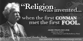 Mark Twain Memes - atheist agnostic and secular quotes facebook think about it