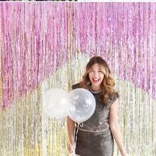 Wedding Backdrop Gold Aliexpress Com Buy 1pec Party Fringe Backdrop Gold Sequin