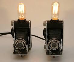 lamp vintage kodak 1930s fold out camera lamps unique decor for