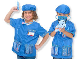 Halloween Dentist Costume Amazon Melissa U0026 Doug Veterinarian Role Play Costume Dress