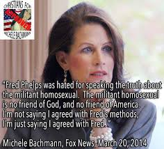 Michele Bachmann Meme - michele bachmann agrees with fred phelps not so fast hoax