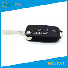 lexus key panic button factory supply directly vw 3 1 button car flip remote replacement