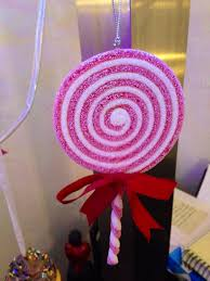 sugar lollipop ornaments from target my land
