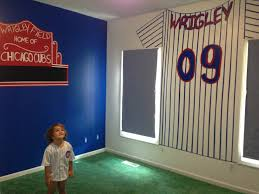 Chicago Cubs Crib Bedding Images About Bedroom Ideas On Pinterest Chicago Cubs Wrigleys Room