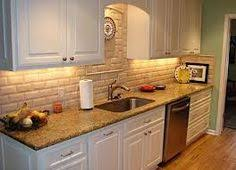 Granite Tile Backsplash by Photo Of A Granite Tile Countertop With A Wood Edge Kitchen