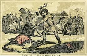 1782 of moravian delaware indians massacred indian