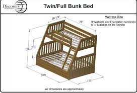 bunk beds free twin over full bunk bed plans woodworking plans