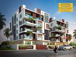 3d apartment design 3d apartment exterior day u0026 night rendering and elevation design