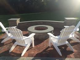 outdoor fireplaces u0026 fire pit design in central nj